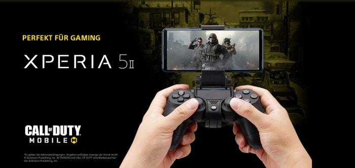 Sony Xperia 5 II Gaming-Aktion