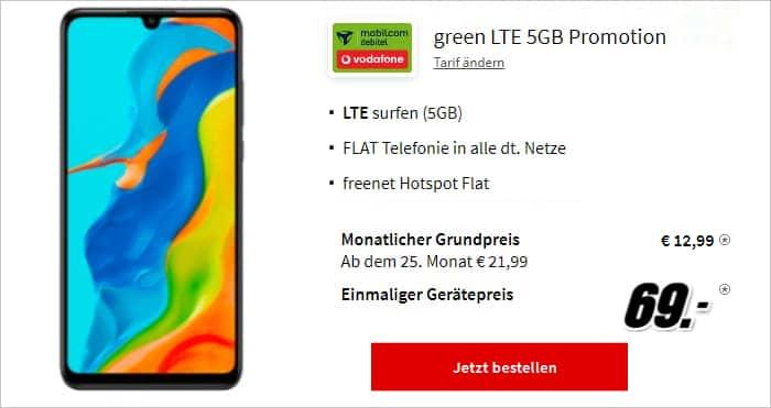 Huawei P30 lite New Edition green LTE 5 GB MediaMarkt