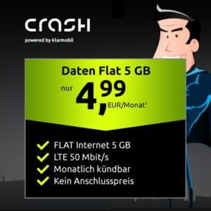 crash Daten Flat im Vodafone-Netz bei Vitrado Thumbnail