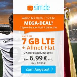 sim.de LTE All 6 GB Aktionstarif Juni 2021 Thumbnail