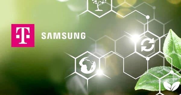 """MWC21 Telekom und Samsung wollen """"grünes"""" Smartphone entwickeln"""