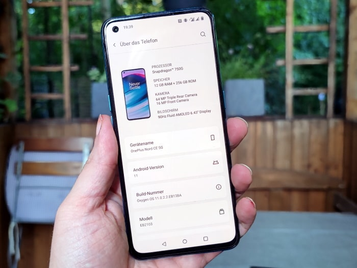 OnePlus Nord Core Edition 5G Test
