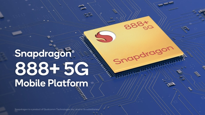 Qualcomm Snapdragon 888+ mit integriertem 5G-Modem