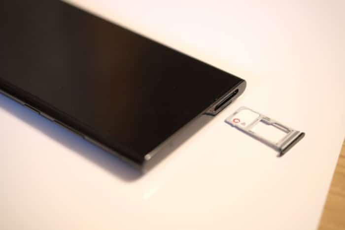 Samsung Galaxy Note20 Ultra 5G - nano SIM-/microSD-Tray
