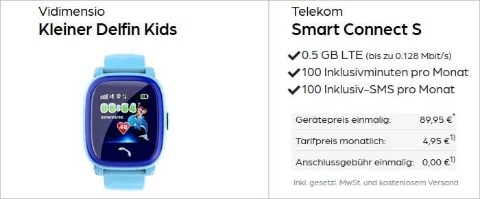Vidimensio Kleiner Delfin Kids mit Telekom Smart Connect S bei Preisboerse24