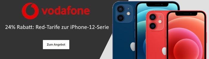 Vodafone Red Tarife mit iPhone 12 und iPhone 12 mini