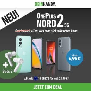 OnePlus Nord 2 5G + OnePlus Buds Z Thumbnail DeinHandy