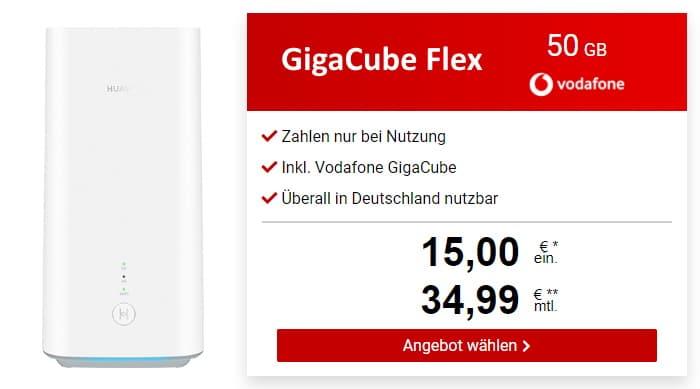 Vodafone GigaCube Flex bei LogiTel