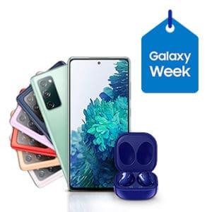 Samsung Galaxy S20 FE 5G + Galaxy Buds Live zur Galaxy Week im Samsung Shop