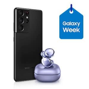 Samsung Galaxy S21 Ultra 5G + Galaxy Buds Pro zur Galaxy Week - Teaser