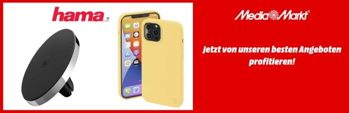 HAMA Smartphone-Zubehör bei MediaMarkt: Volle Ausstattung zu kleinen Preisen