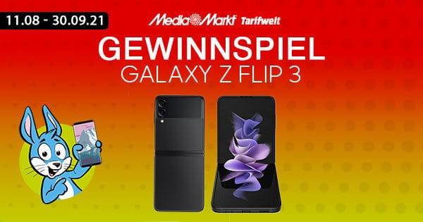 Handyhase-Gewinnspiel: Jetzt mitmachen & ein Galaxy Z Flip 3 im Wert von 1049 € gewinnen!