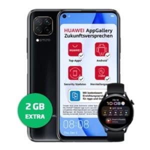 Huawei P40 lite mit Watch 3 LTE Thumbnail