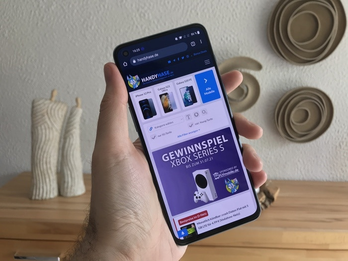 OnePlus Nord 2 5G im Test Design Display