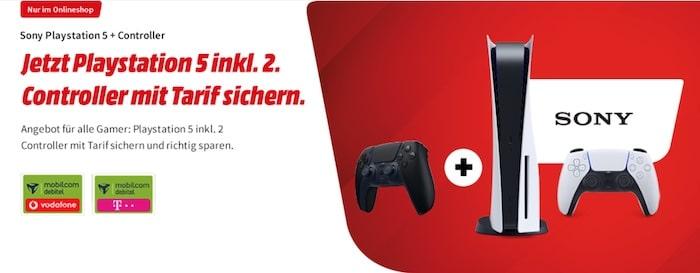 Sony PS5 + md green LTE bei MediaMarkt