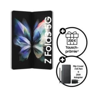 Samsung Galaxy Z Fold 3 5G mit Direktabzug und Zubehör bei Sparhandy - Teaser