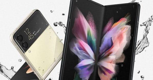 Samsung Galaxy Z Flip 3 & Z Fold 3: Wasserfest nach IPX8 - was bedeutet das genau?