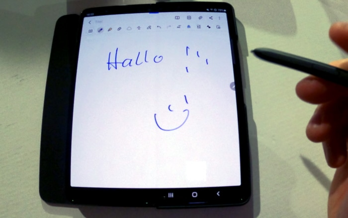 Samsung Galaxy Z Fold 3 im ersten Kurz-Test
