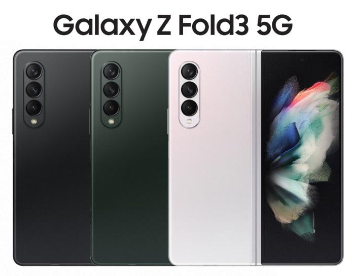 Samsung Galaxy Z Fold 3 5G im Vergleich