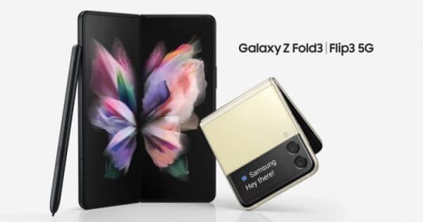 Samsung Galaxy Z Fold3 5G und Samsung Galaxy Z Flip3 5G im Vergleich Thumbnail