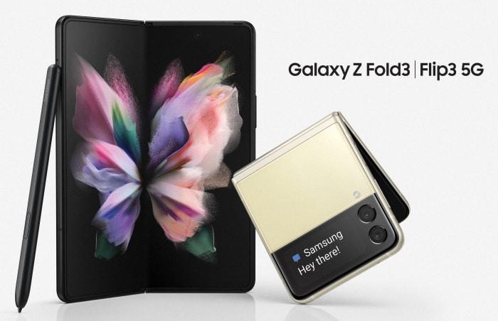 Samsung Galaxy Z Fold 3 5G und Samsung Galaxy Z Flip 3 5G im Vergleich