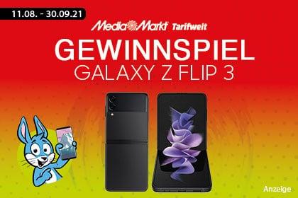Handyhase Gewinnspiel mit Galaxy Z Flip 3