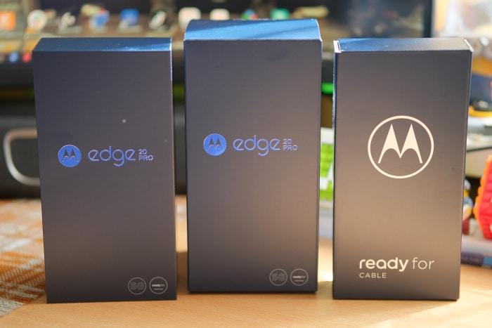 Motorola Edge 20 Pro - Boxen