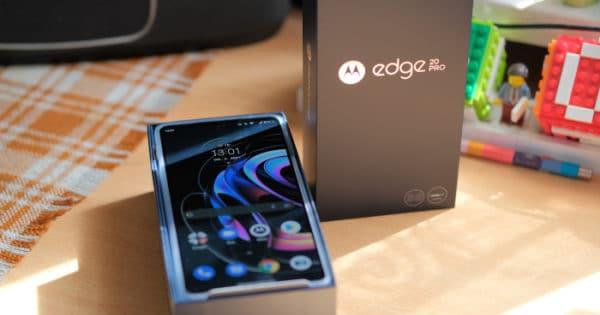 Motorola Edge 20 Pro - Teaser