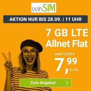 winSIM LTE All 7 GB Aktion September 2021 Thumbnail