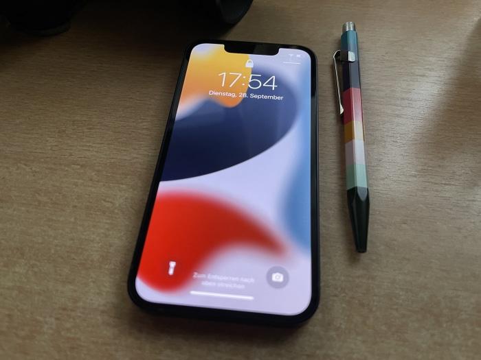 Apple iPhone 13 mini Test - Display