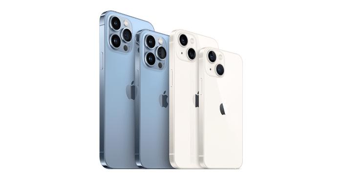 Apple iPhone 13 Modelle im Vergleich