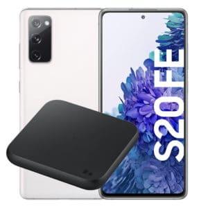 Samsung Galaxy S20 FE + Samsung Wireless Charger Pad Thumbnail