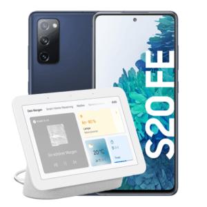Samsung Galaxy S20 FE Blau + Google Nest Hub Thumbnail