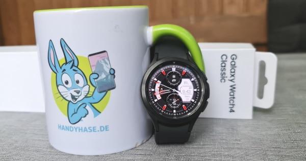 Samsung Galaxy Watch 4 Classic mit Google Wear OS 3 Test Thumbnail