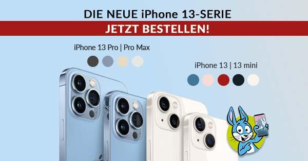 iPhone 13, Pro, Mini, Pro Max bestellen: Hier hältst Du es am schnellsten in den Händen