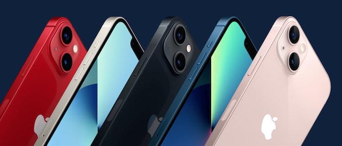 iPhone 13 Design und Farben von Apple