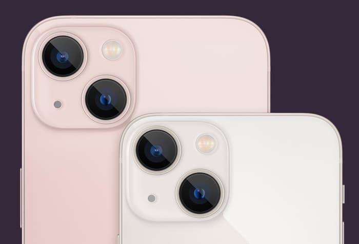 iPhone 13 und mini Kamera auf der Rückseite