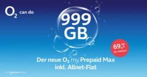 o2 my Prepaid Max mit 999 GB LTE Thumbnail