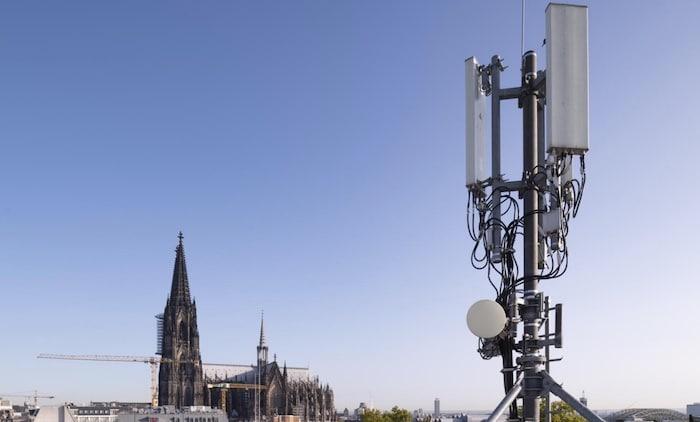 o2 5G-Ausbau in Köln