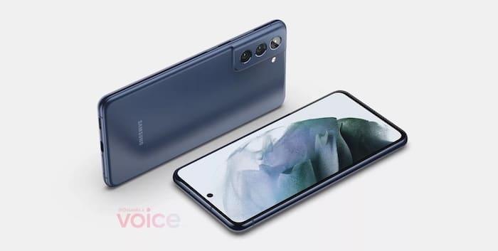 Samsung Galaxy S21 FE Design-Leak von OnLeaks