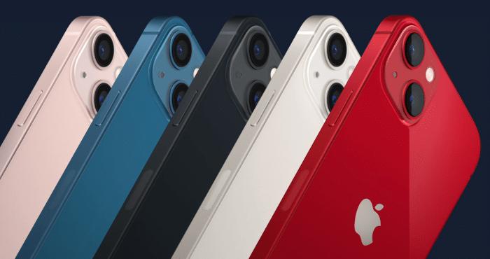 Apple iPhone 13 Farben