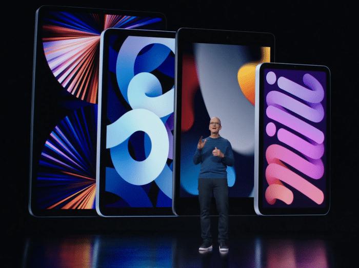 Apple iPad 2021 vorgestellt