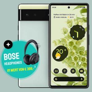 Pixel 6 mit Bose Headset