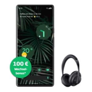 Google Pixel 6 Pro Schwarz + Bose Headphones 700 Vorbesteller-Aktion Thumbnail