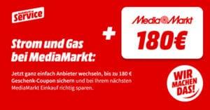 MediaMarkt Strom- und Gas-Tarife: Jetzt vergleichen, Gutschein abstauben & Geld sparen